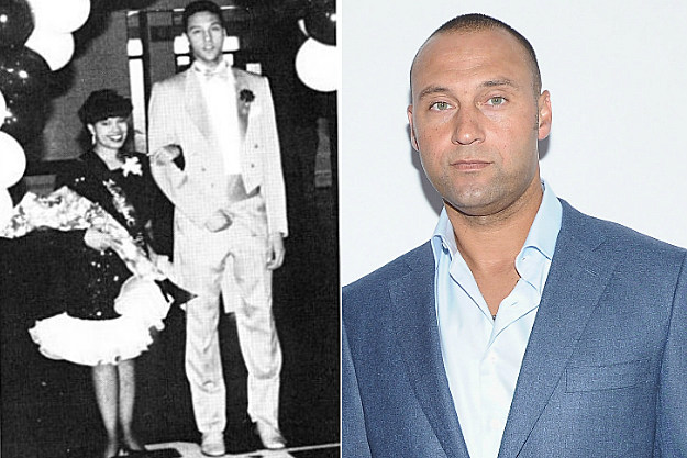Derek Jeter waited too long and all the tall girls were taken