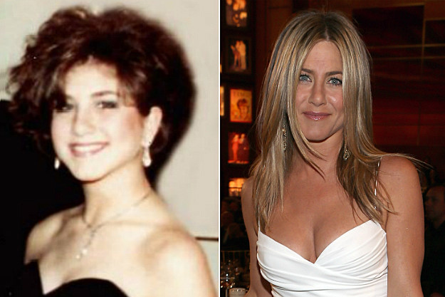 Jennifer Aniston's hair should have stayed home from the prom