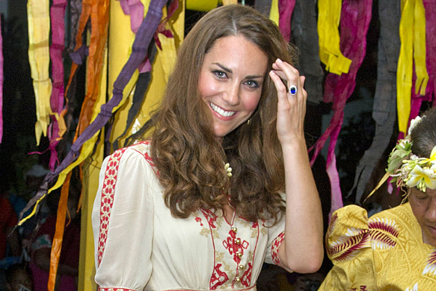 Kate Middleton has to suffer through another release of photos in which she's missing clothes.