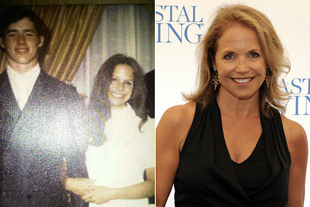 It looks like Katie Couric went to her prom last week