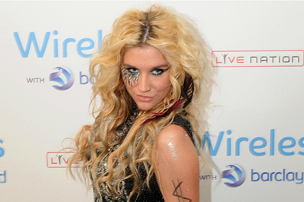 Ke$ha likes to do it with ghosts.