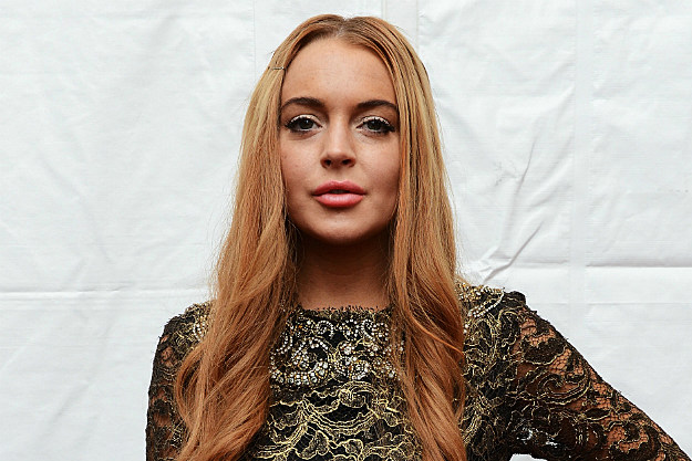 Lindsay Lohan plans to sue the guy she hit with her Porsche.