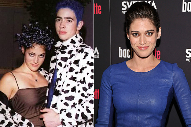 "Lizzy Caplan's prom theme was ""inexplicable."""