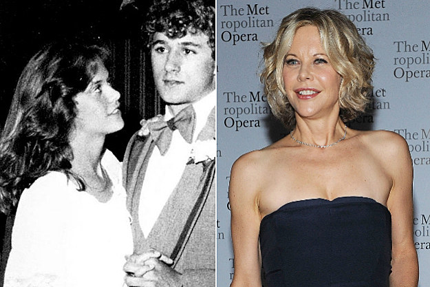 Meg Ryan at prom with an obvious impostor
