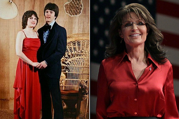 Sarah Palin probably shot her prom date from a helicopter afterwards