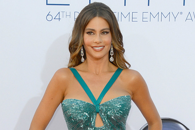 Sofia Vergara's gorgeous Emmy dress put the fun in wardrobe malfunction.