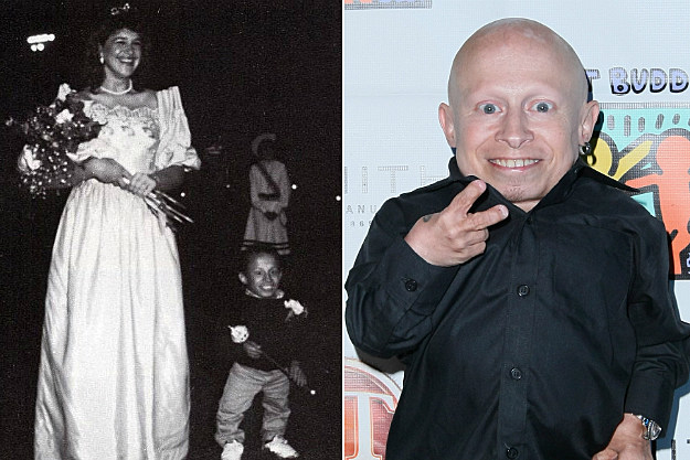 Verne Troyer snuck into prom under his date's dress