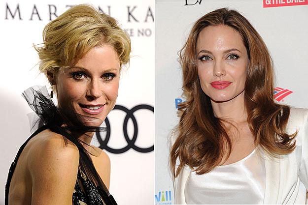 Julie Bowen, Angelina Jolie