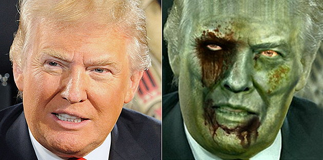 Donald Trump Zombie