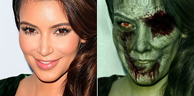 Kim Kardashian Zombie