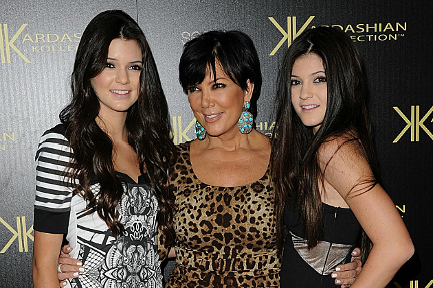 Kris Jenner only abuses daughters Kylie and Kendall Jenner by making them be a part of the family.