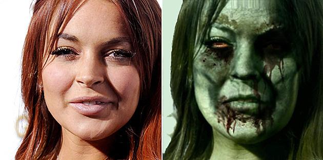 Lindsay Lohan Zombie