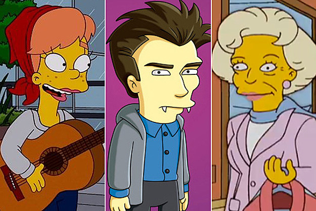 Celebrity Cameos On The Simpsons