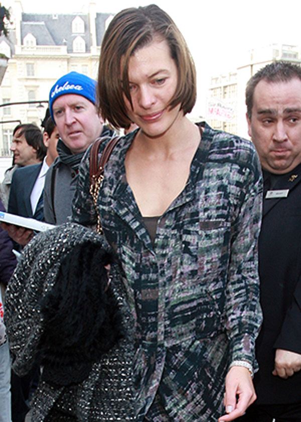 Milla Jovovich Without Makeup