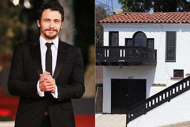 James Franco's Crib