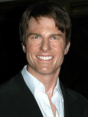 Tom Cruise wax figure
