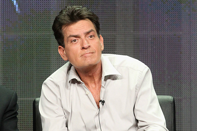 Charlie Sheen has some anger and makes a death threat.
