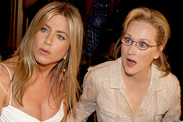 Jennifer Aniston, Meryl Streep