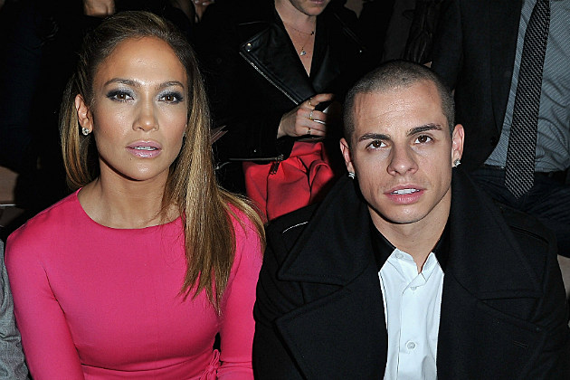 J.Lo might not entirely trust her young boyfriend Casper Smart.