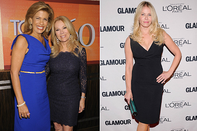 Kathie Lee Gifford and  Hoda Kotb have a bone to pick with Chelsea Handler.