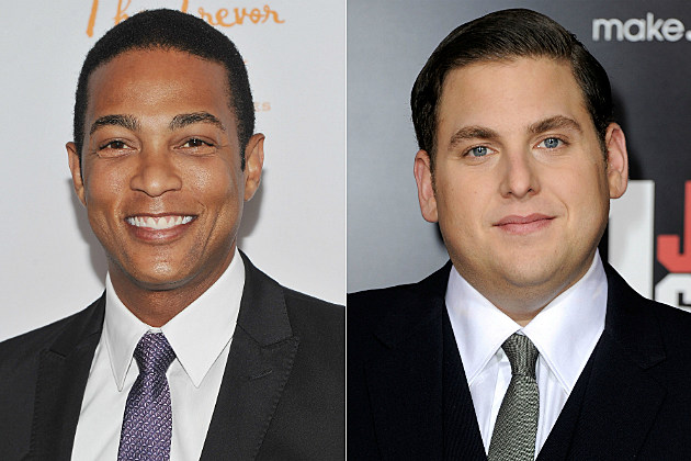 Don Lemon and Jonah Hill have a junior high peen slapfight on Twitter.