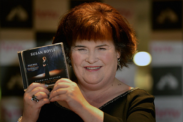 Susan Boyle is celebrating the release of her new album with a special kind of party.