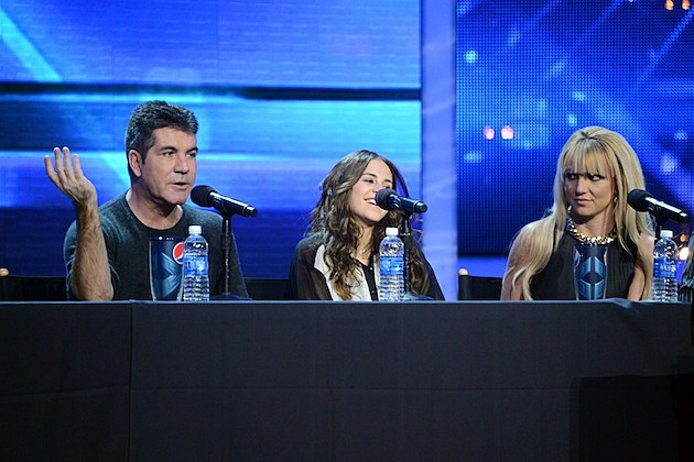 Simon Cowell Carly Rose Sonenclar Britney Spears