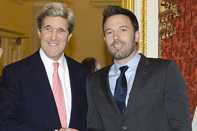 John Kerry Ben Affleck