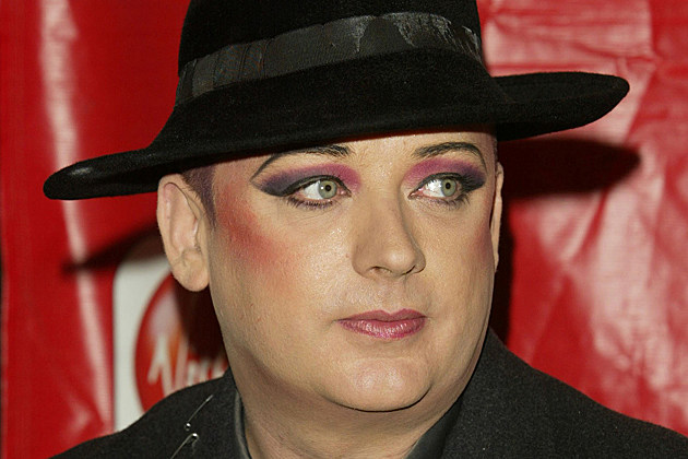 Boy George Being Targeted By Mexicans + Bad Makeup Artists