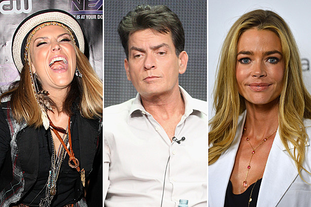 Brooke Mueller Charlie Sheen Denise Richards