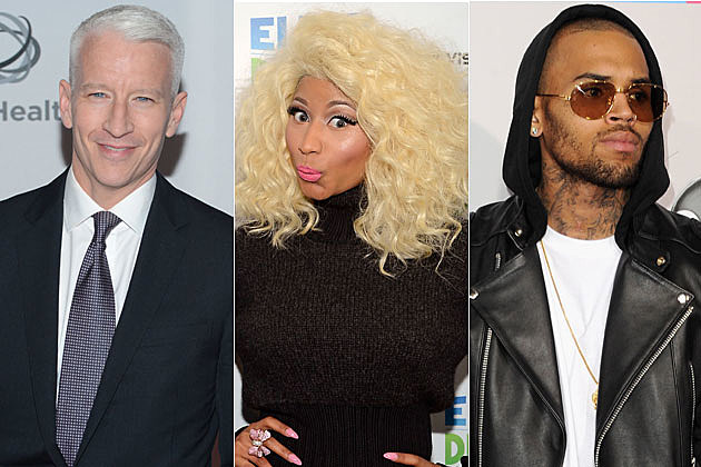 Anderson Cooper Nicki Minaj Chris Brown