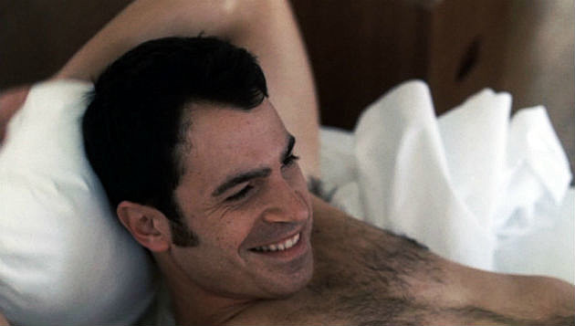 Chris Messina shirtless in bed