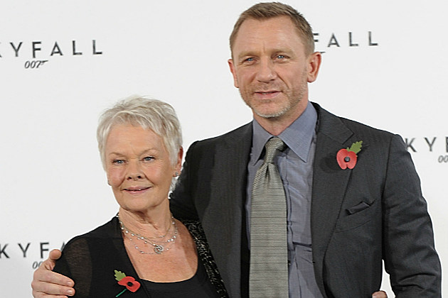 These days Daniel Craig and Judi Dench hang out on the red carpet when they're not fighting crime.