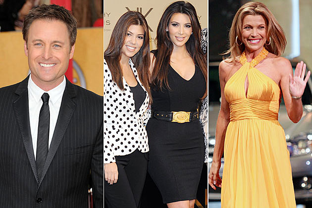 Chris Harrison, Kardashian Sisters, Vanna White