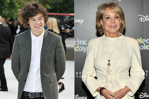 Harry Styles and Barbara Walters would make a rather icky couple.
