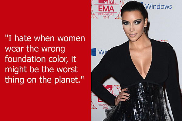Dumb Celebrity Quotes Kim Kardashian
