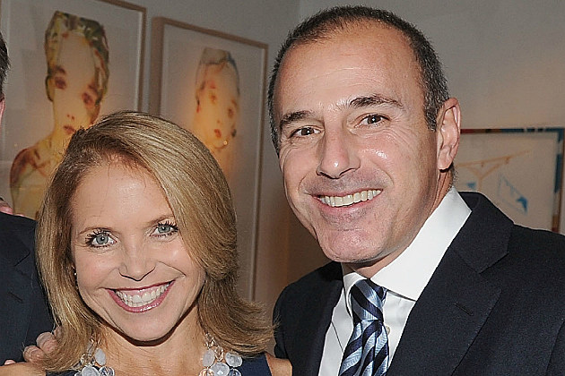 Matt Lauer and Katie Couric my need to get together again soon.