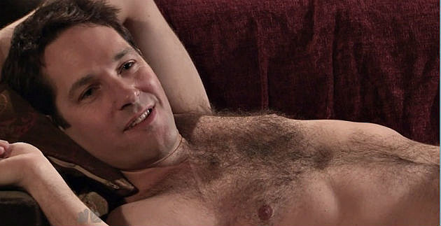 Paul Rudd SNL shirtless