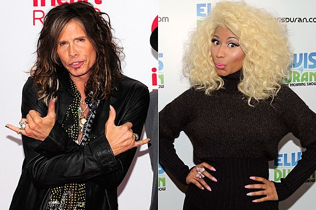 Steven Tyler Nicki Minaj