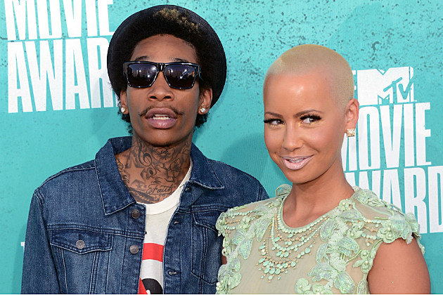Wiz Khalifa and Amber Rose will raise their son to know what pot is.
