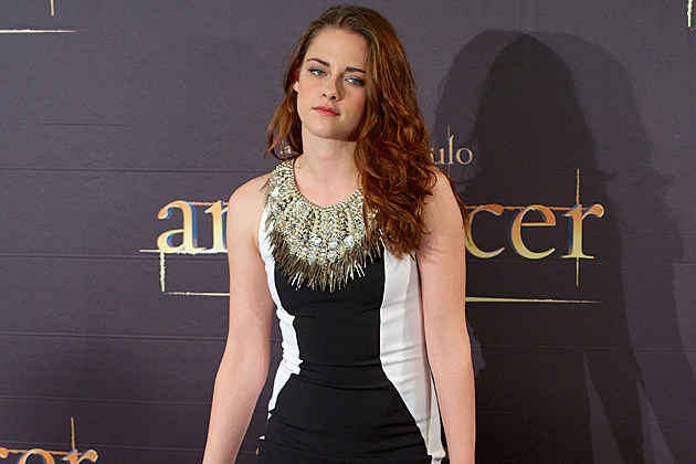 Kristen Stewart at the Breaking Dawn Madrid photocall