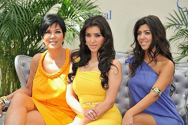 Kris Jenner Kim Kardashian Kourtney Kardashian