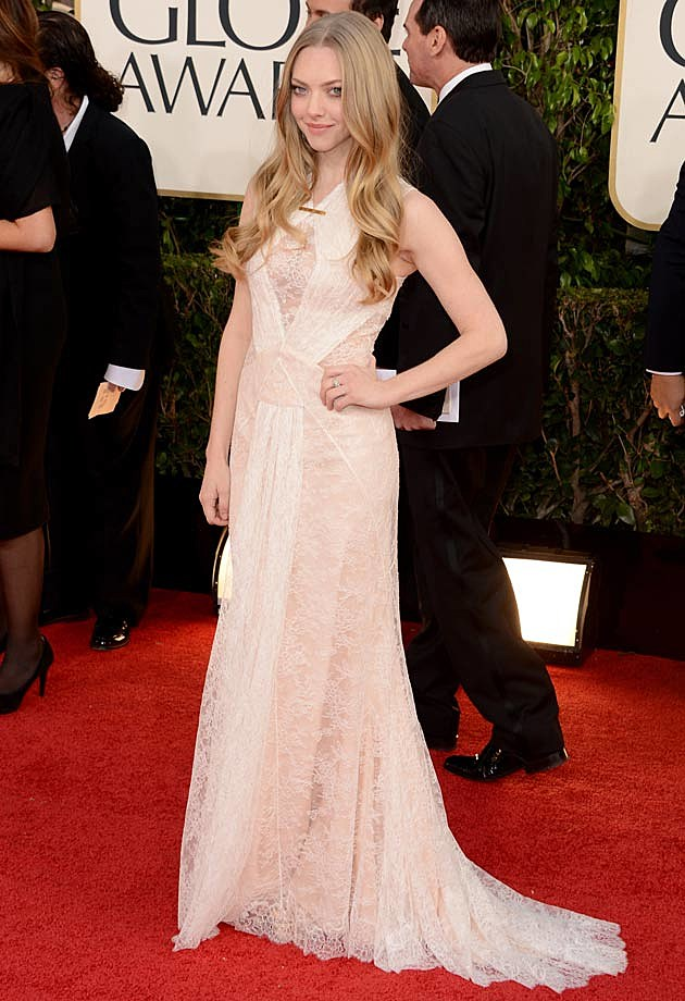 Amanda Seyfried Golden Globes 2013