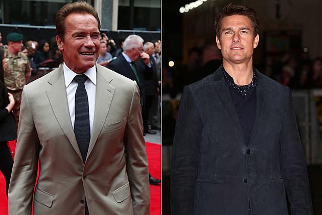 Arnold Schwarzenneger Tom Cruise