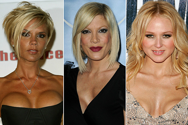 Victoria Beckham, Tori Spelling and Jewel had really bad boob jobs