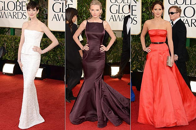 Best Dressed Golden Globes 2013