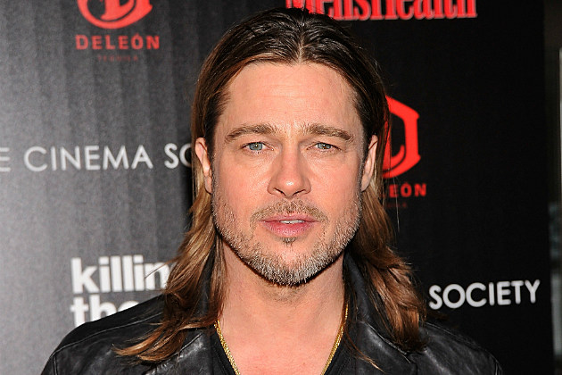 Brad Pitt tweets to China that he's coming.