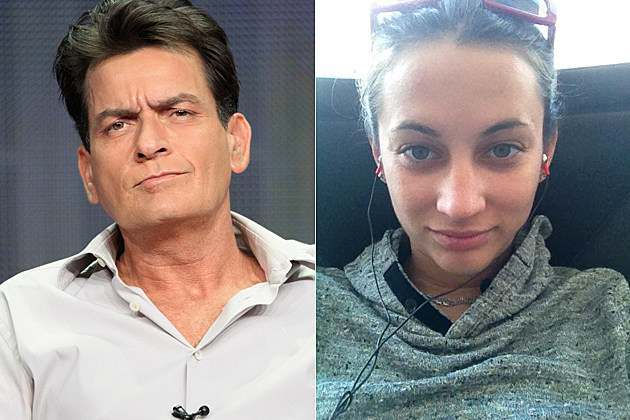 Charlie Sheen Georgia Jones