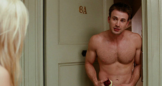 Chris Evans shirtless What's Your Number