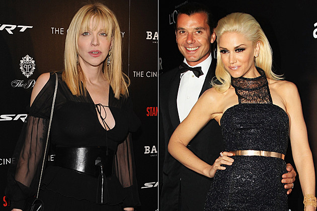 Courtney Love Gavin Rossdale Gwen Stefani
